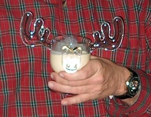 Moose Mug Held