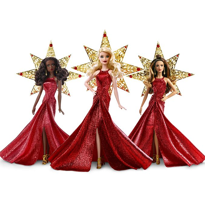 Collectible Barbies - Holiday Barbie 2017