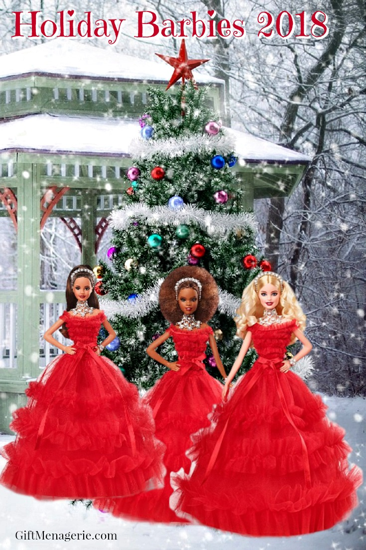 Collectible Barbies - Holiday Barbies 2018