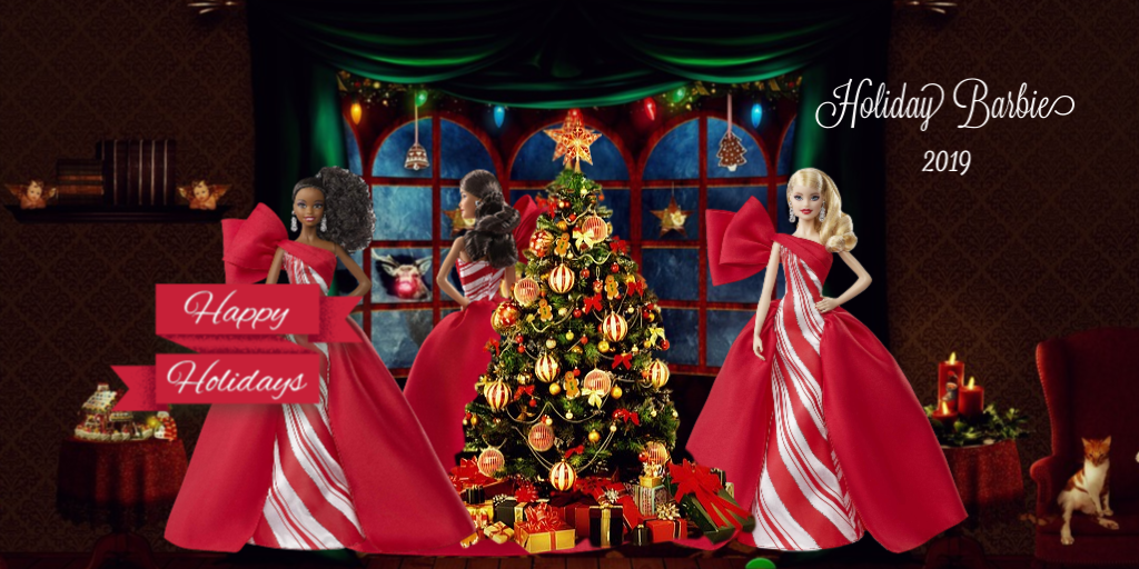 2019 Holiday Barbie Collection