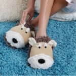 Fun Fuzzy Slippers for Women