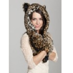 Faux Fur Hood Animal Hats