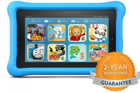 Kindle Fire Kids Edition – E-reader with Color Illustrations
