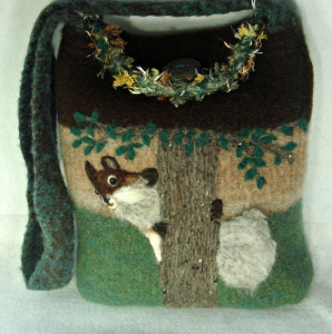 Handmade Felted Handbags