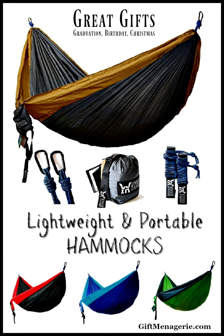 Lightweight, Portable Hammocks for 2
