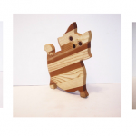 Animal Shaped Hardwood Cutting Boards