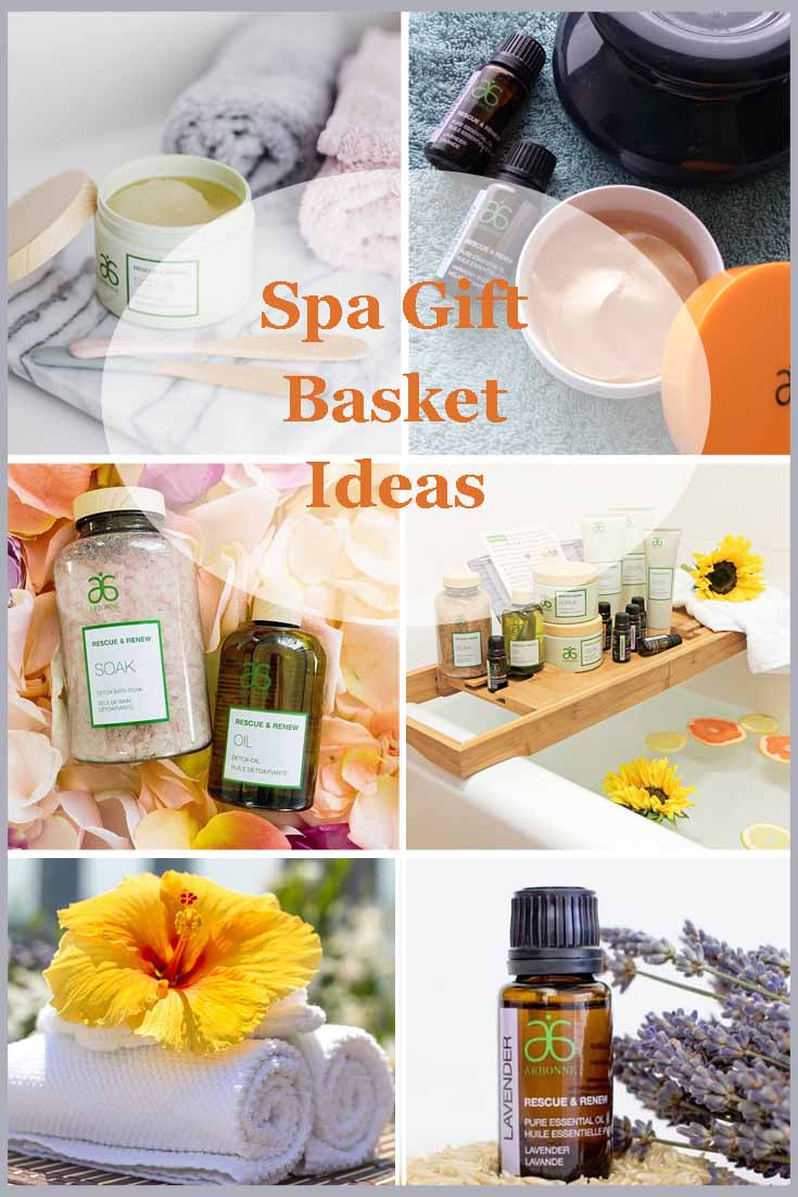spa gift basket ideas