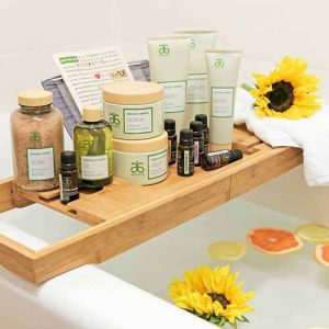 the rescue and renew spa range