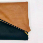 Handmade Vegan Handbag Clutch Purse